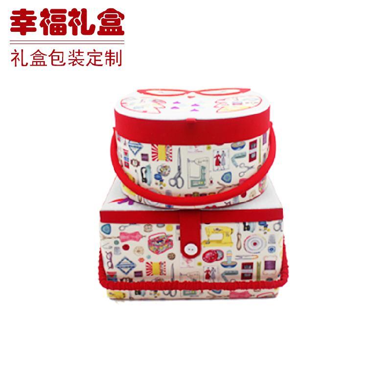 无锡针线收纳盒 布盒 皮盒 酒盒包装 化妆品盒批发定制生产