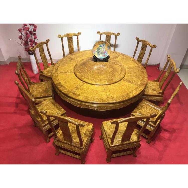 黄金樟实木家具
