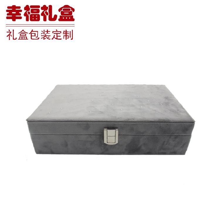 无锡镶银珠珠宝收纳盒 首饰盒 保健品包装盒 电气产品包装批发生产