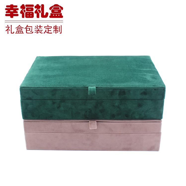无锡珠宝收纳盒(绿粉) 电气产品包装 工业品包装 工艺品包装定制生产