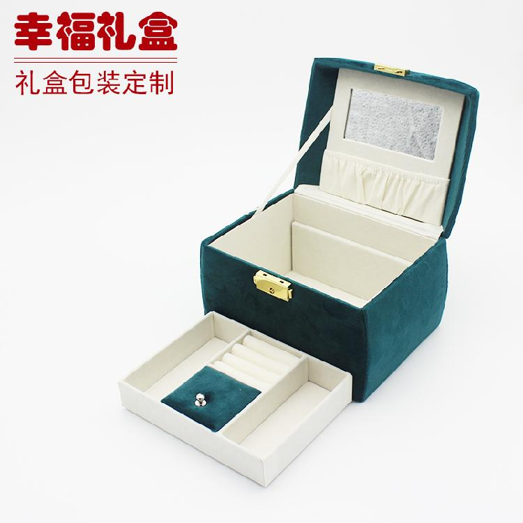复古首饰收纳盒茶叶包装礼品包装保健品包装定制