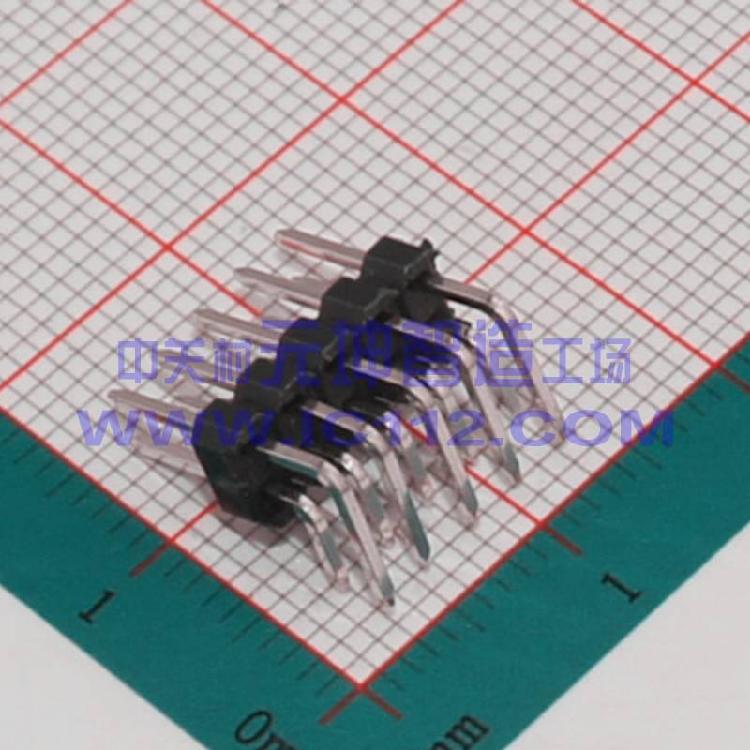 供应电子元器件2x5P 双排弯针