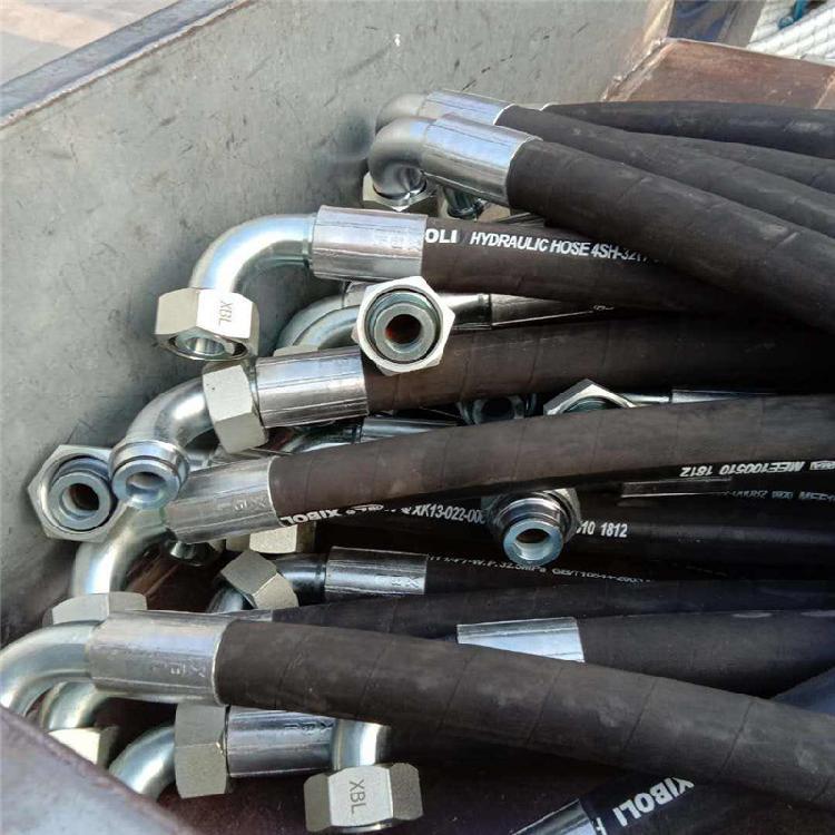河北弘创主营 破碎锤专用液压油管 钢丝增强液压油管  型号齐全