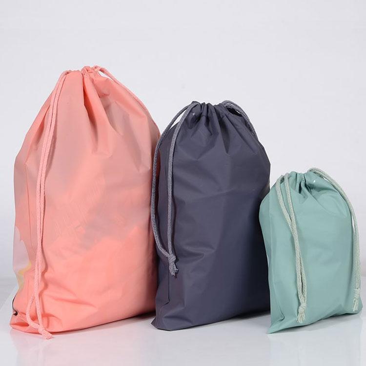 【赛德龙】棉布束口袋   环保抽绳束口印花全棉棉布束口袋   抽拉绳