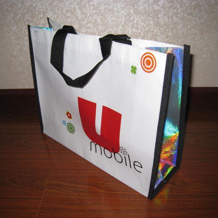 厂家无纺布袋定做LOGO 覆膜无纺布手提袋定制 广告礼品宣传购物袋