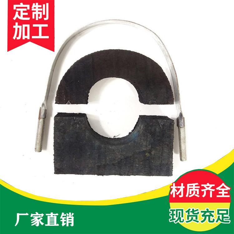 定做保冷木托 中央空调冷水管道木托 橡塑托码