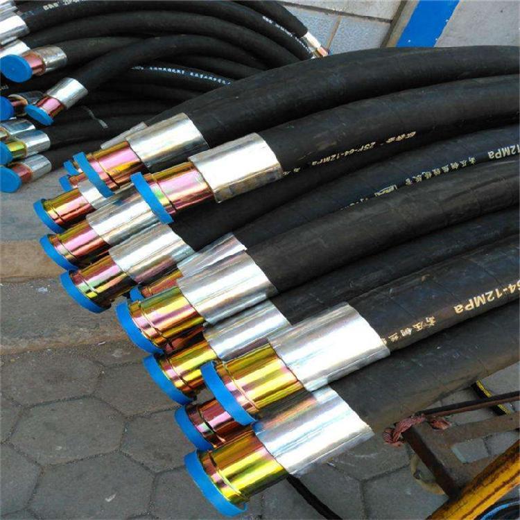 河北直销板把式快速接头连接高压油管 石油机械用液压胶管 矿用液压油管 型号齐全