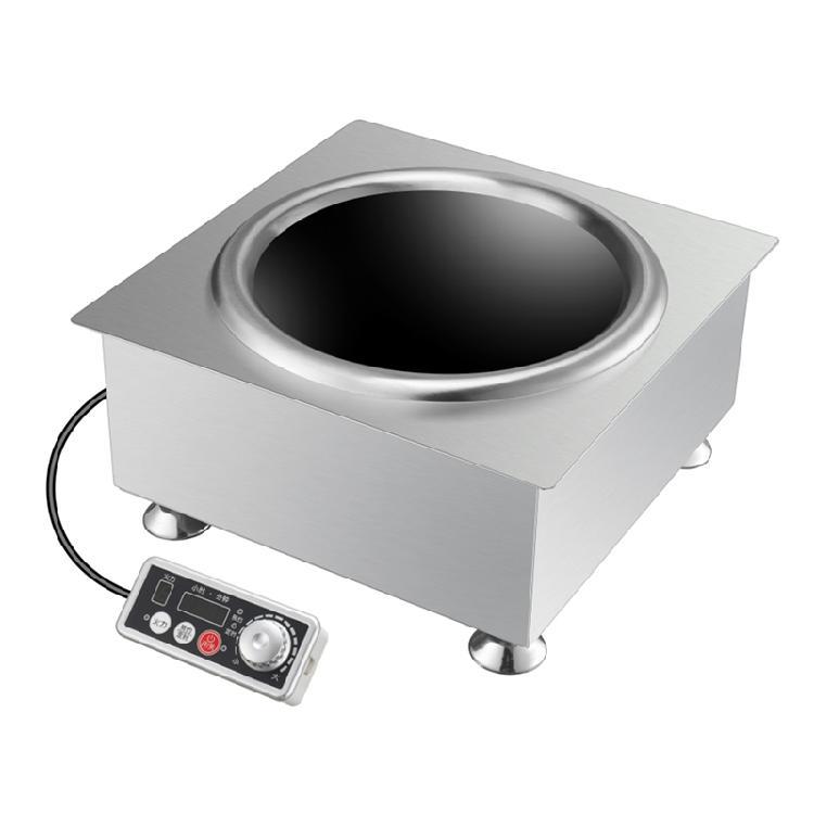 赛贝商用电磁炉/凹面可嵌入电磁炉/圆锅底电磁炉/商用火锅电磁炉厂家