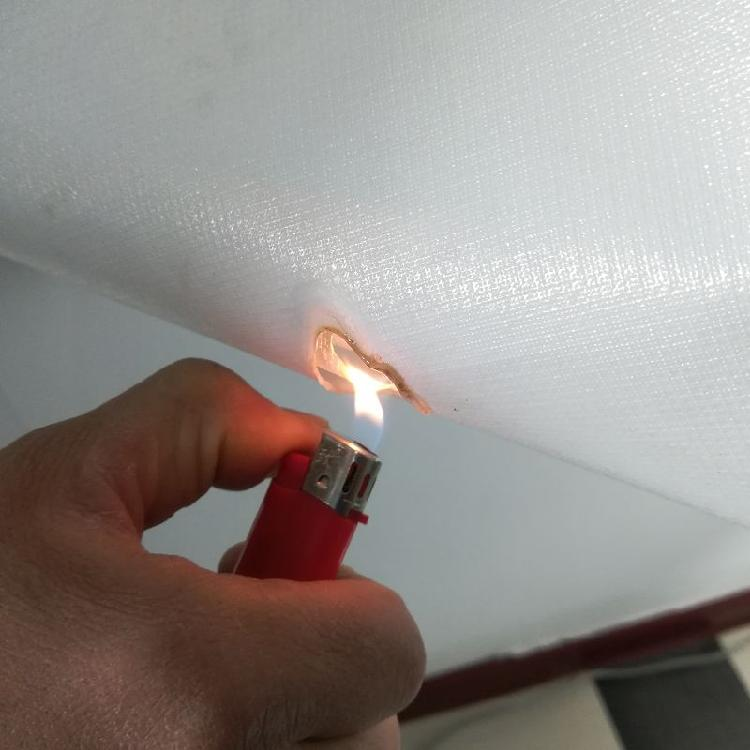 建筑防潮用阻燃型PE膜聚乙烯膜隔汽层离火自熄符合欧盟标准