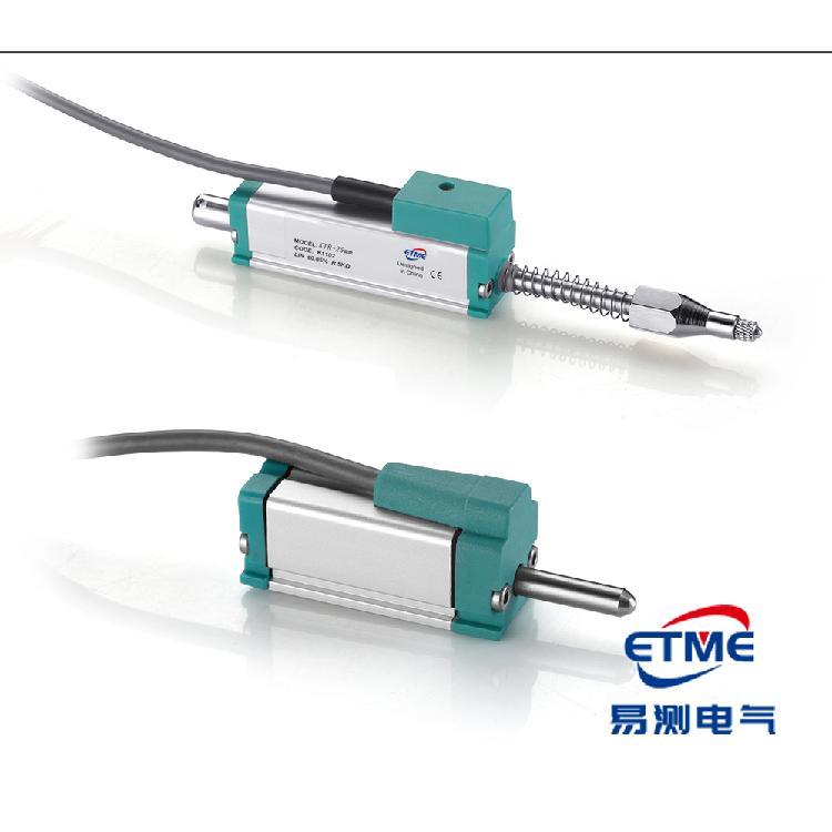 ETME易测直线位移传感器KTR-50mm系列微型自复位机械电子尺生产厂家现货供应