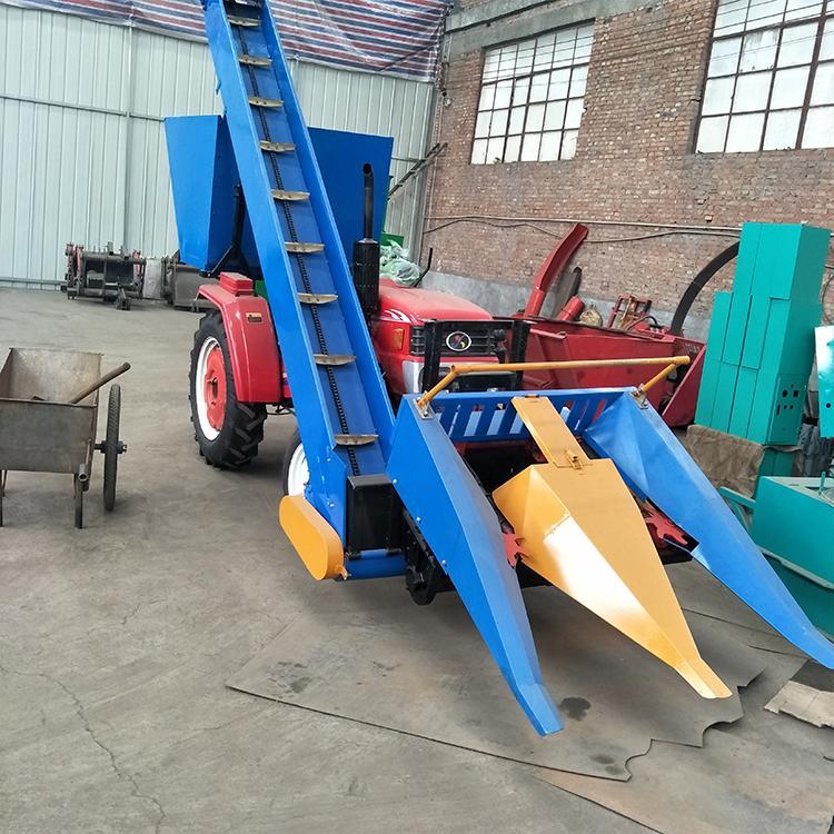玉米秸秆割到机 家用玉米收割机 万丰二手收割机
