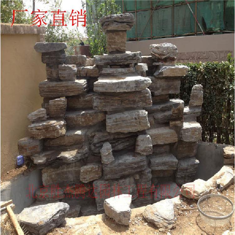 千层石  龟纹石  灵璧石  太湖石  假山石  假山制作施工