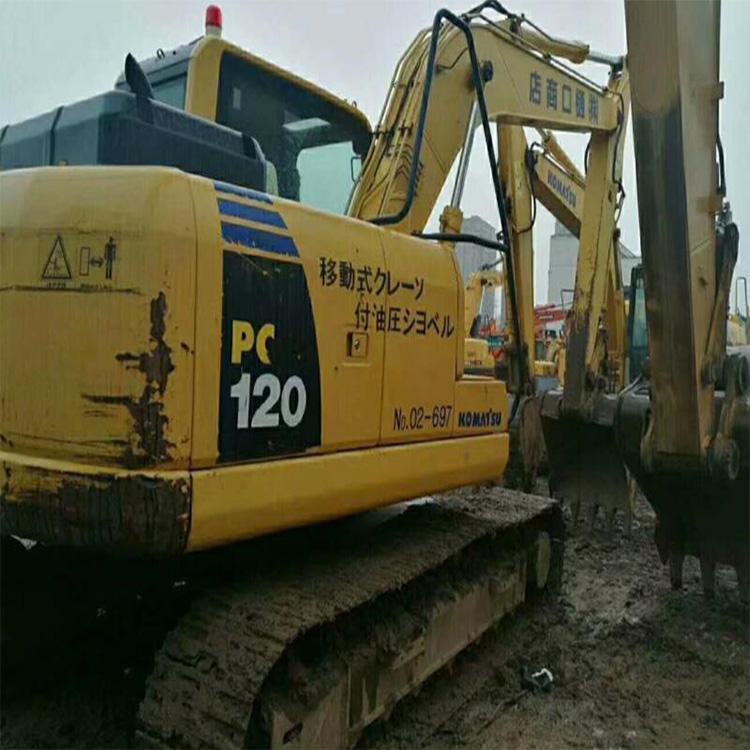 二手小松120-8挖掘机个人转让