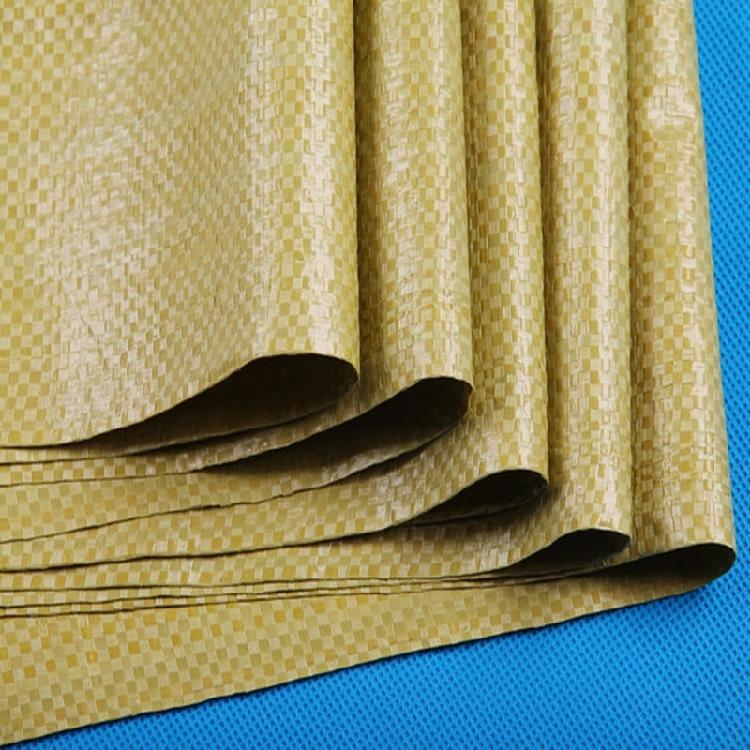 编织袋 蛇皮袋 塑料编织袋 苏州冠福编织袋厂生产厂家 黄色编织袋