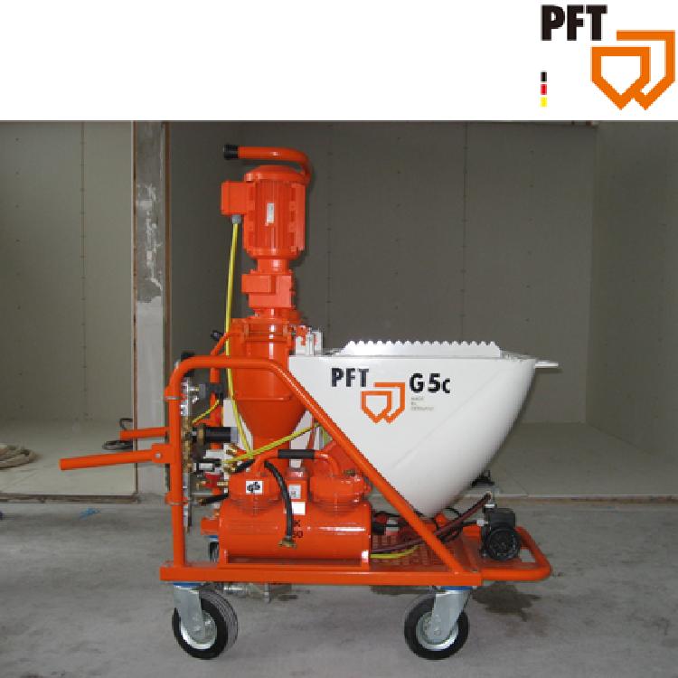 PFT G 5Ceco 德国石膏水泥抹面砂浆机 德国饰面砂浆机 德国水泥砂浆机 德国加固砂浆机