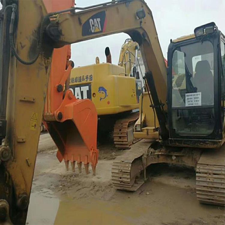二手卡特307C挖掘机  二手挖土机交易市场