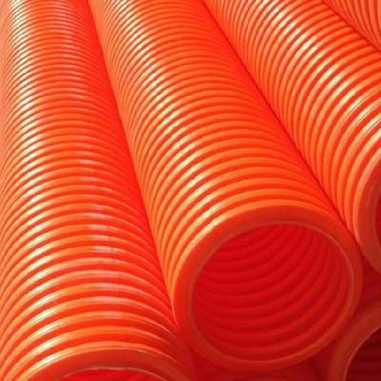 河源柔性套管与刚性套管的区别pvc双壁波纹管批发