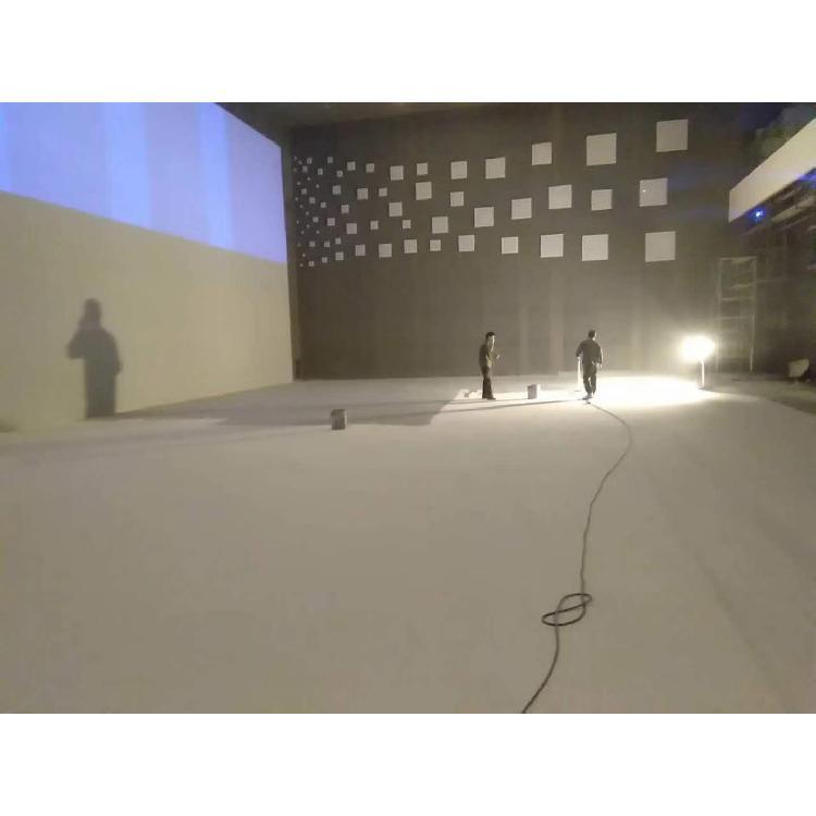 水性投影屏幕漆 3D高清投影银幕漆 抗光墙面漆现场喷涂  环保