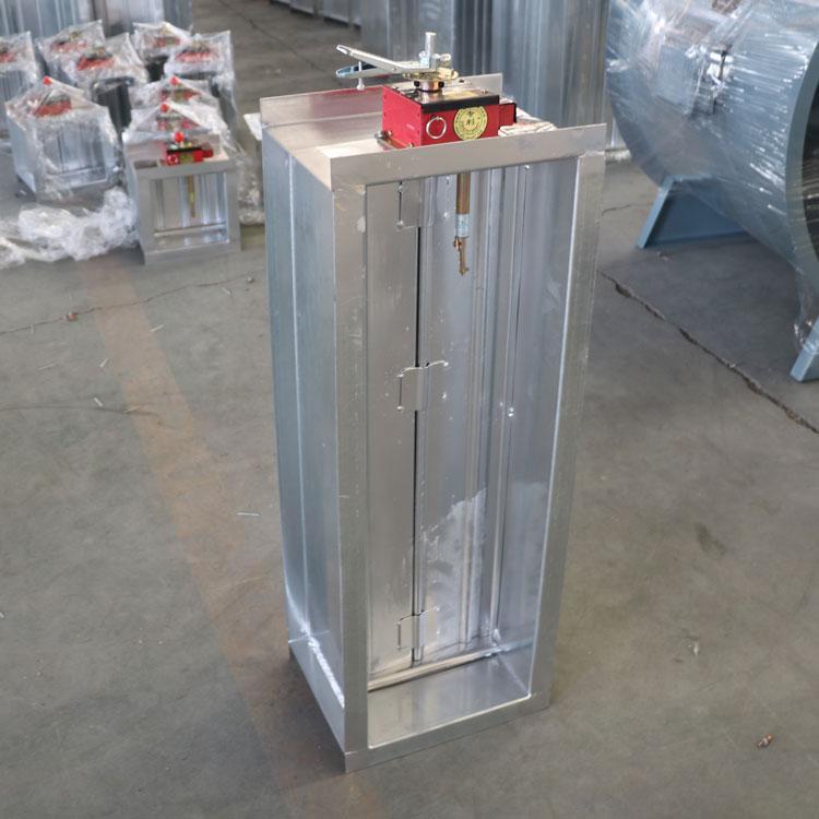 消防强排烟电动风阀  280℃送风阀 70度通风防火阀 方形风量电动阀