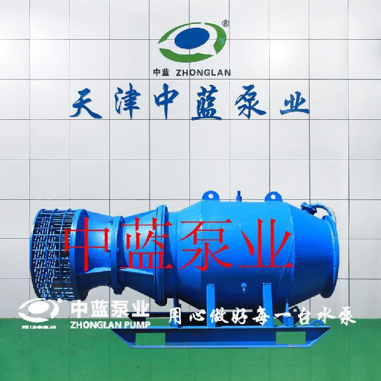 悬吊式安装潜水轴流泵 雪橇式轴流泵厂家 轴流泵安装方式