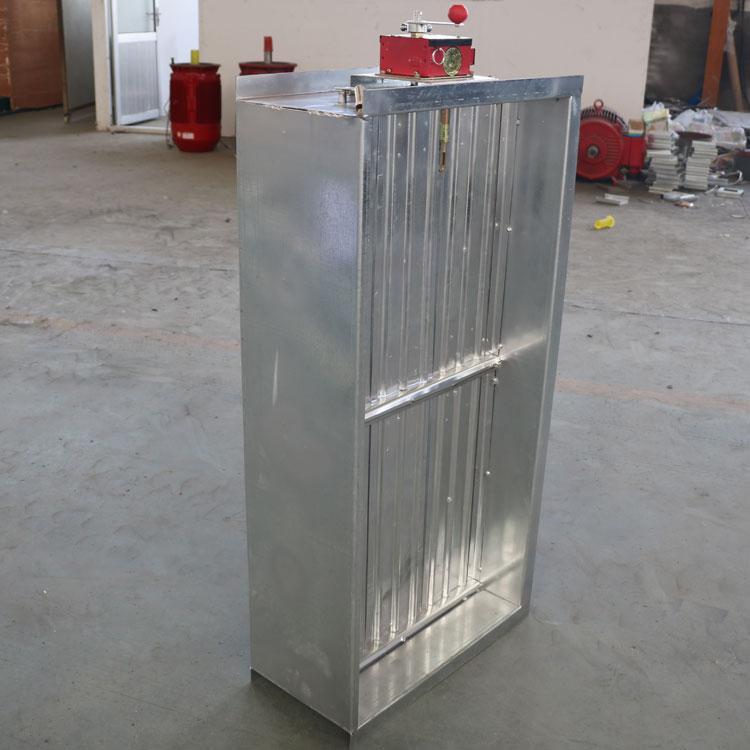 150度厨房排烟防火阀 电动常开风量调节阀 280度消防3C排烟阀