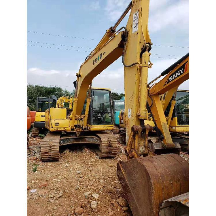 现代120-6E0 二手挖土机交易市场