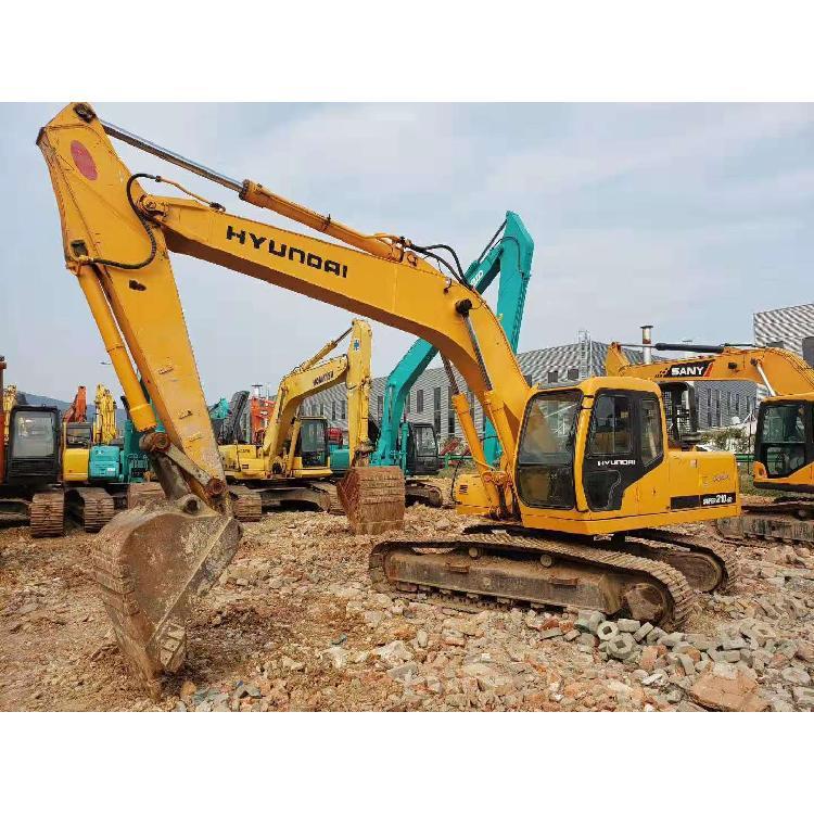 二手挖掘机市场价格  现代210-5D 二手挖土机买卖