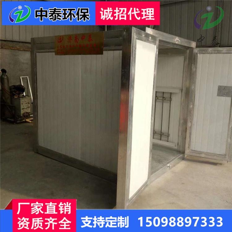供应中泰液化气高温烤漆房高温固化房工业喷塑喷粉烤箱废气处理设备