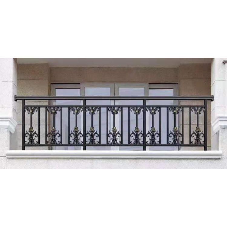 潍坊祥辉金属制品厂家直销铝艺护栏别墅铝合金阳台栏杆楼梯扶手围墙护栏定制