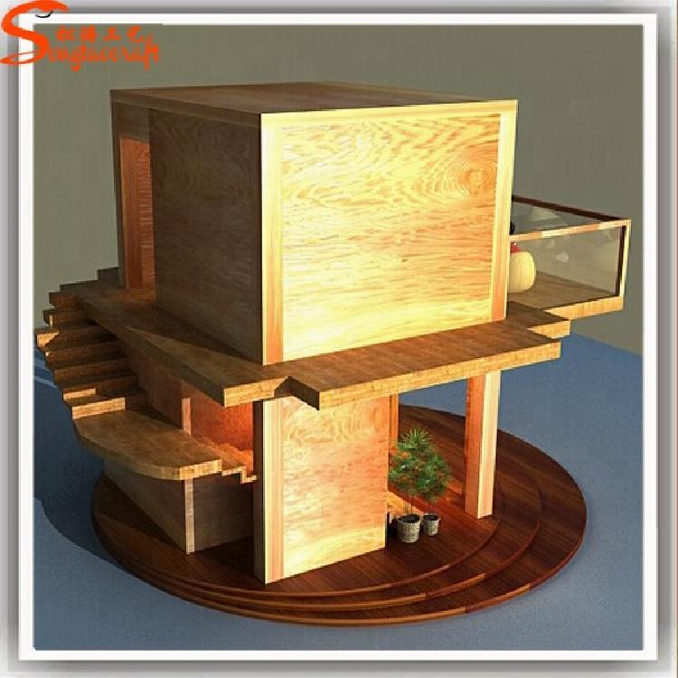 广东松涛定制森林生态氧吧独立木树屋 自然风景区户外树屋别墅 大型户外儿童木屋滑梯