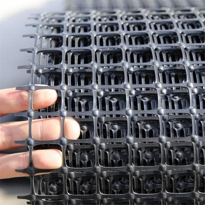 路面养护加工定制厂家供应阻燃双向塑料土工格栅厂家直销设备