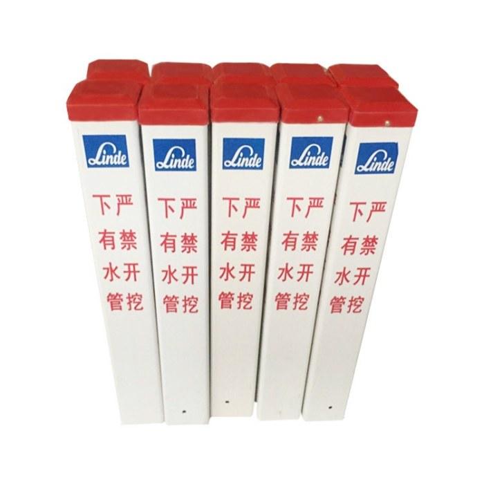 定制新型材料玻璃钢标志桩 阿拉善标志桩价格