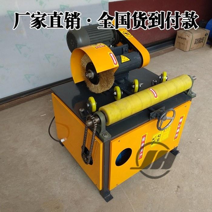 锦航 铁管多功能抛光机 天然气管道除锈机 去氧化皮铜管抛光机