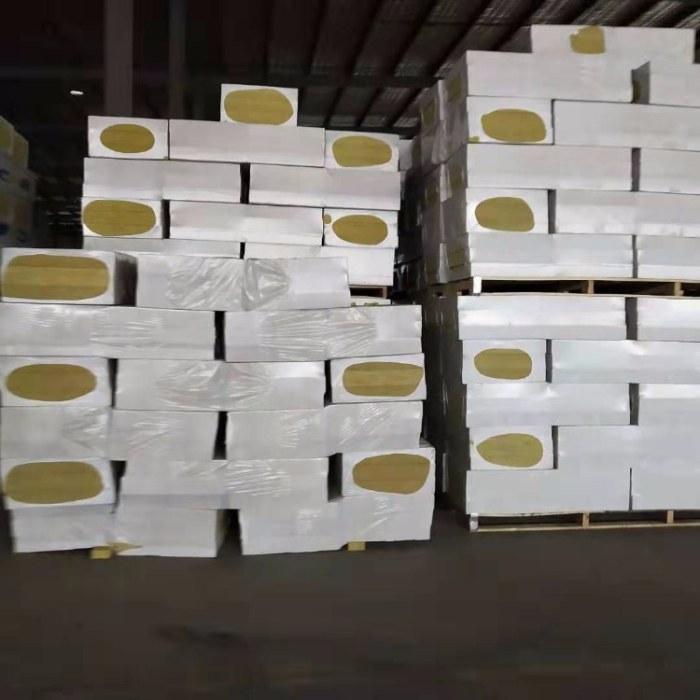 岩棉板   砂浆复合岩棉板   外墙保温板厚度规格   量大从优 价格美丽