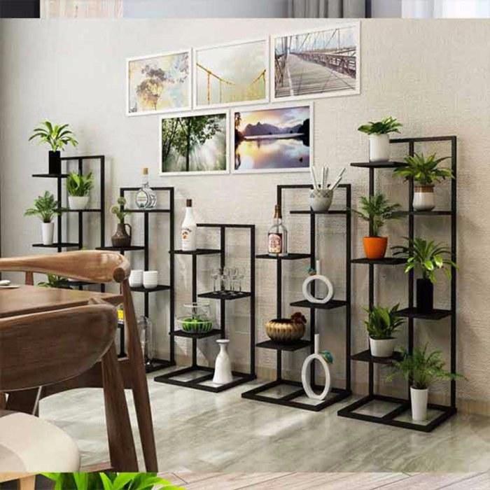 铁艺花盆架 花架子多层室内省空间 阳台装饰架 客厅绿萝植物架
