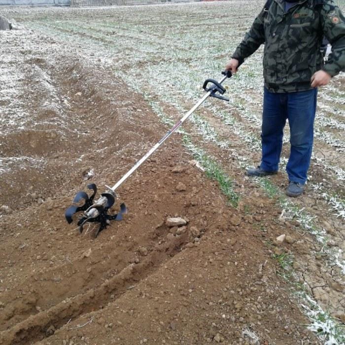 富强 背负式除草机 小型二冲程背负式松土机 茶园除草机