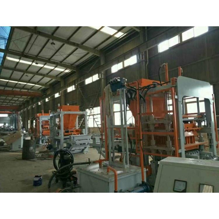 三煜重工 全自动水泥免烧砖机 空心砌块砖机 高效高产