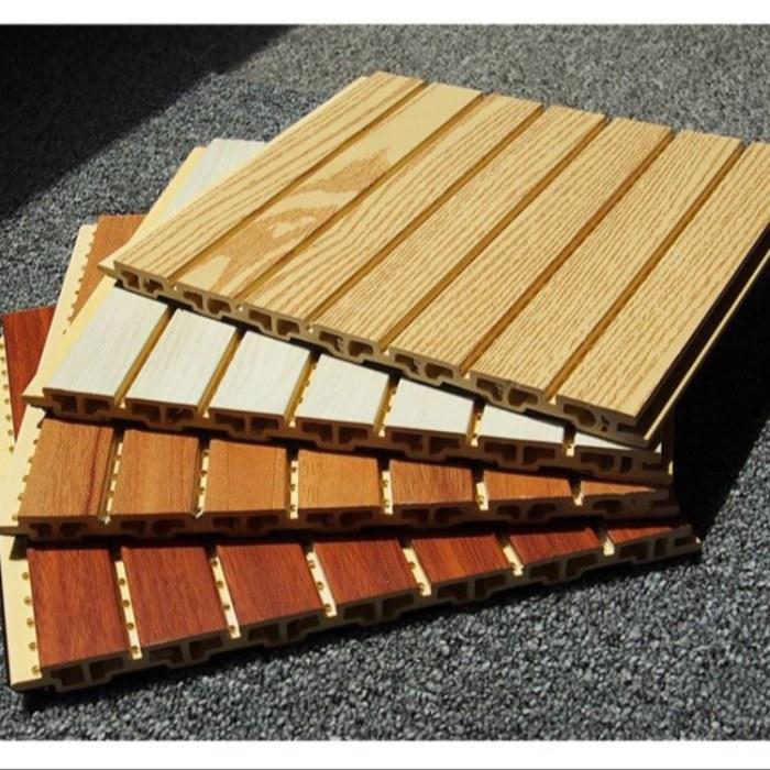 厂家批发 竹木纤维吸音板 阻燃防火槽木质隔音板 隔音材料