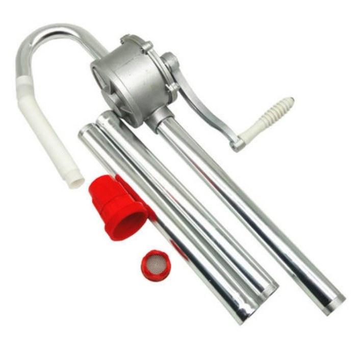 科锐批发 铝合金手摇抽油泵 25型手摇油泵 手动油抽子 三节式手动抽油器 柴油桶泵