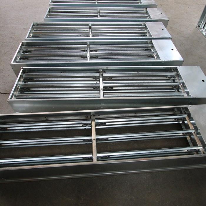 定制正压送风口 电动多叶送风口 3C认证 楼梯换气口  加压排烟送风口