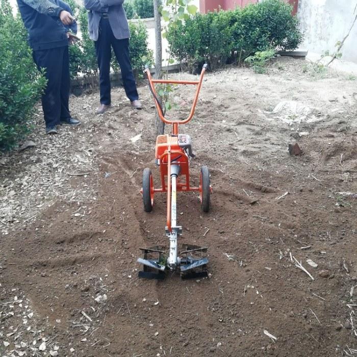 富强 背负式除草机 背负式汽油旋耕机 大棚菜地除草机