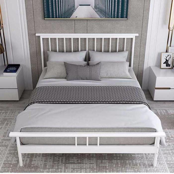 1.5米1.8米单人主卧公主铁艺床 北欧简约双人床 金色酒店公寓铁架床