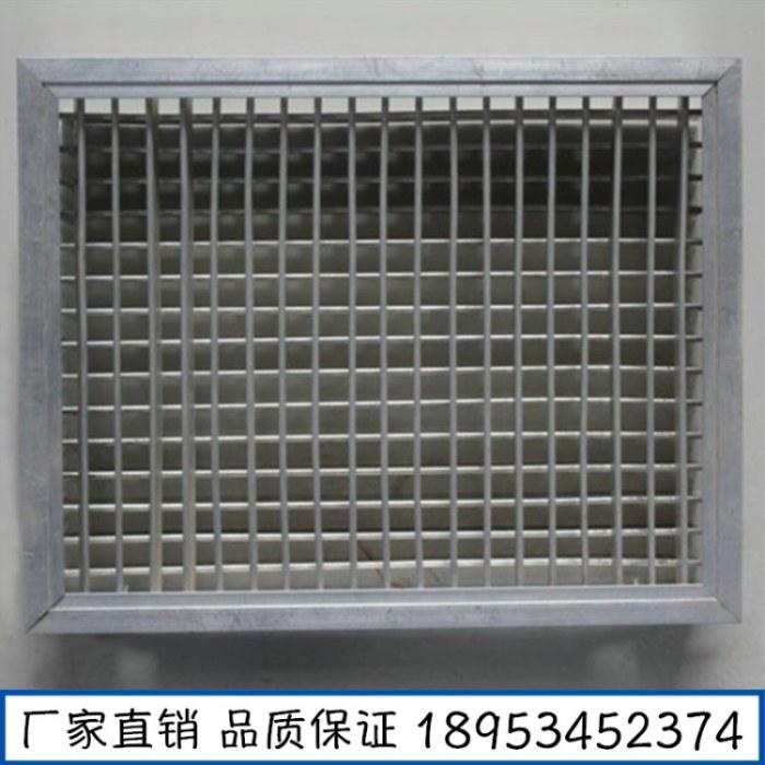 厂家供应双层百叶风口 空调出风口 铝合金面板 价格公道
