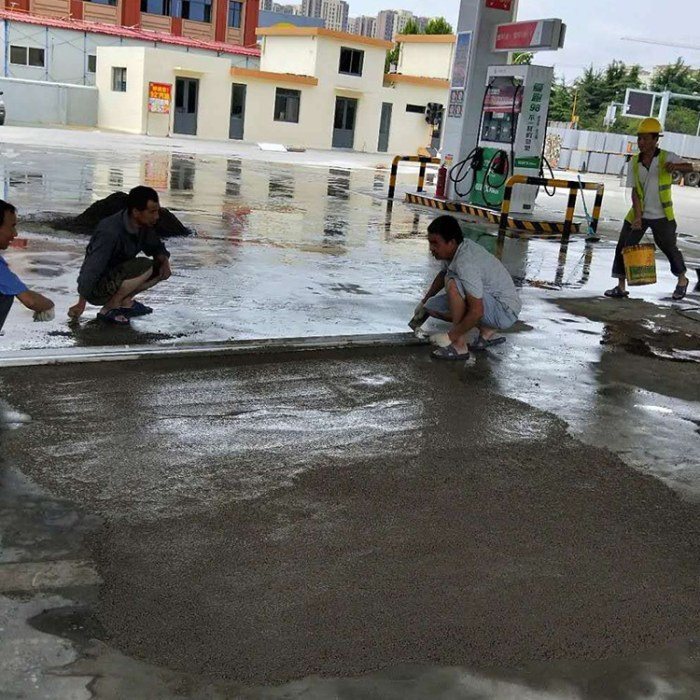混凝土地面起砂处理  水泥混凝土路面修补剂
