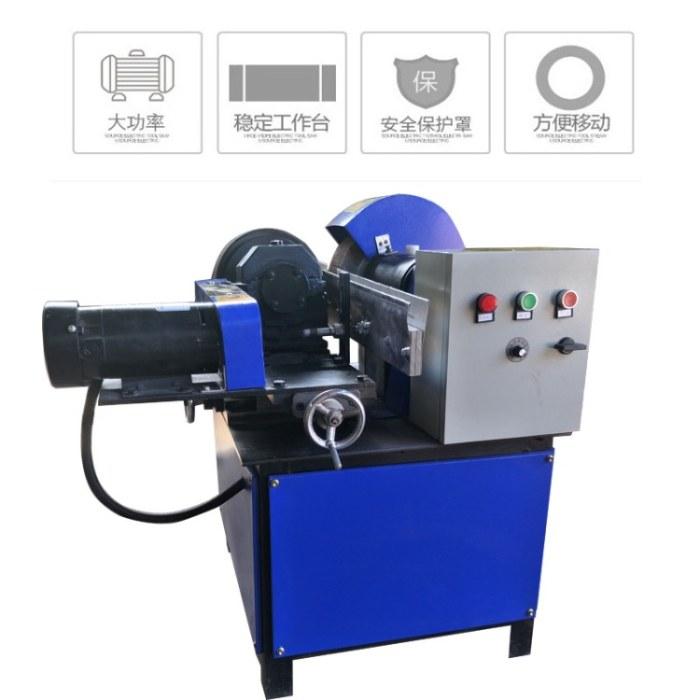多工位铁管除锈机 钢管除锈机质量可靠晟世鼎铭制造