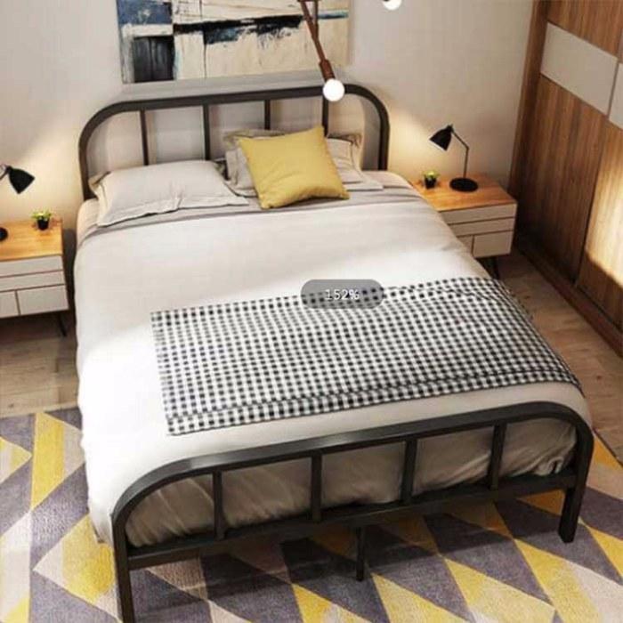 子母床铁床高低床 欧式简约上下铺床 双人公寓床公主床  双层床铁艺床