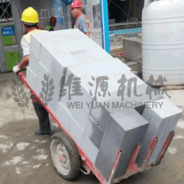 平板拉砖车 维源机械 砖厂出窑运输车 工地手推平板拉砖车 性能稳定