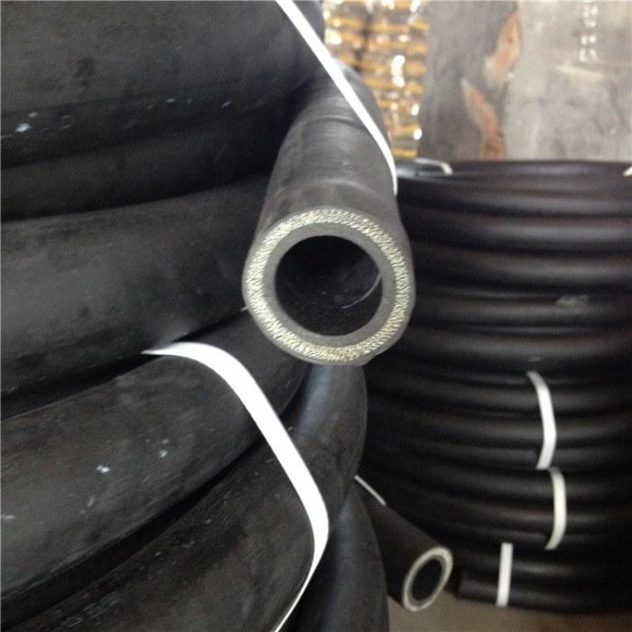 加工定制三元乙丙耐磨喷砂管 橡胶钢丝输水胶管 喷浆管厂家直销