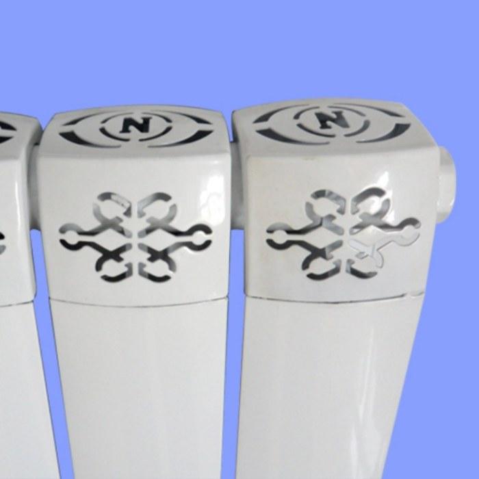 批发铜铝散热器  铜铝复合暖气片 山东散热器配件