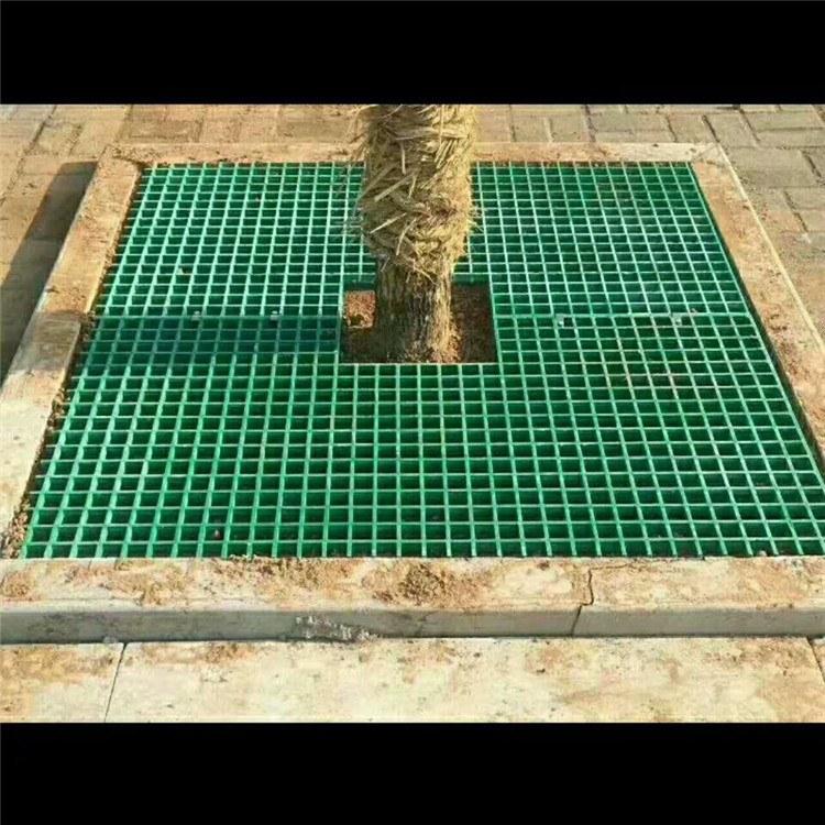 【特源】 洗车房4S店平台盖板 玻璃钢树池篦子 养殖场格栅地网